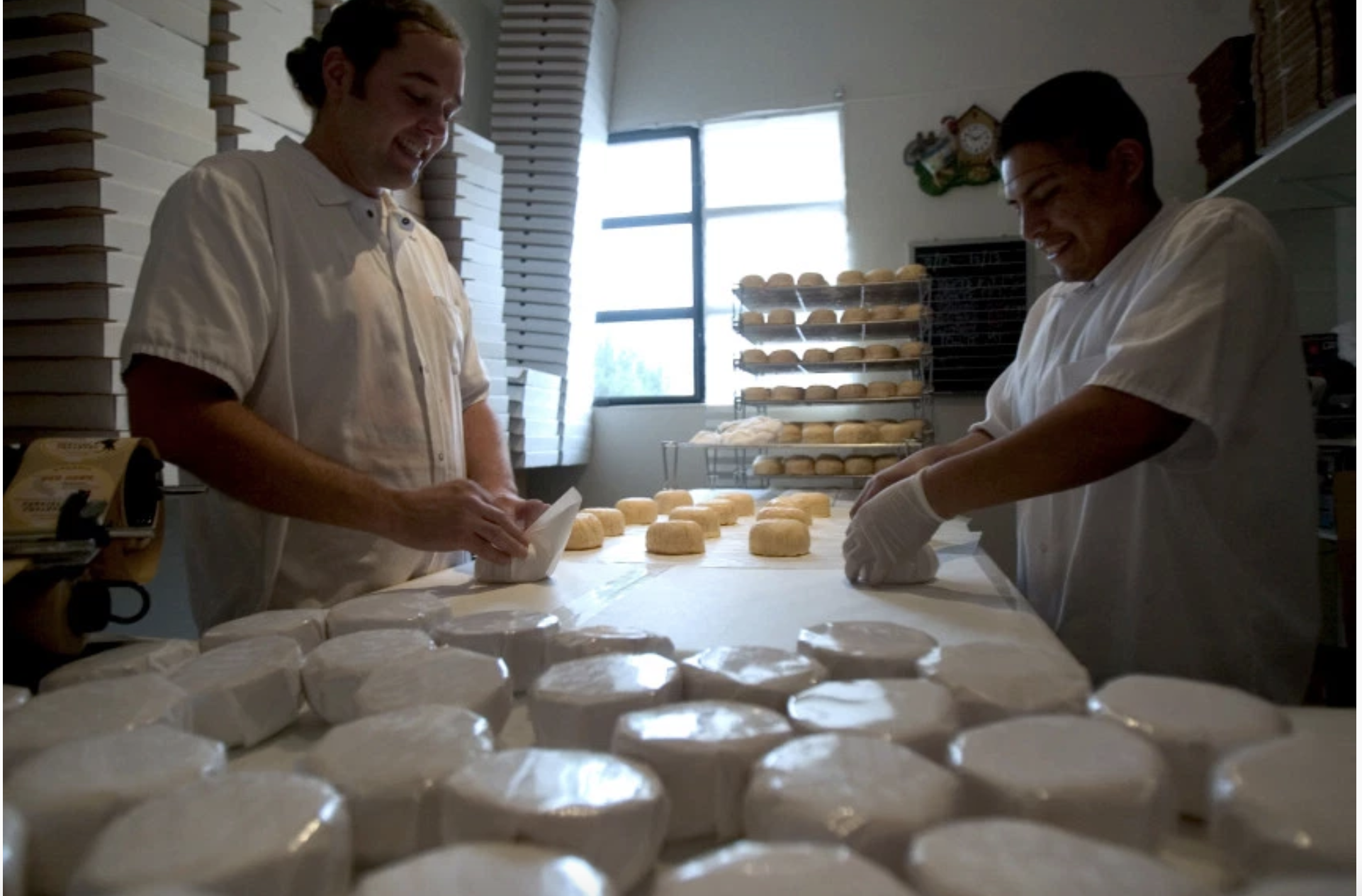 Cheese companies earn Good Food Awards